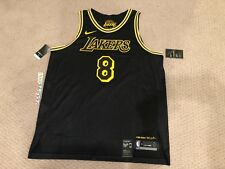 Nike Kobe Bryant #8 Authentic Jersey Los Angeles Lakers City Edition RETAIL $225