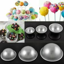 10/20/30/40X 3D Aluminum Ball Sphere Bath Bomb Mold Mould Cake DIY Craft CB