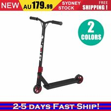 Deluxe Scooter Black Scooter Commuter Scooter Adult Kids Christmas BLACK/RED OZ