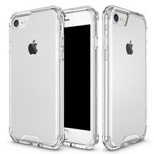 Luxury Clear Hybrid Hard Armor PC+TPU Bumper Defender Case Cover for iPhone 6s 7