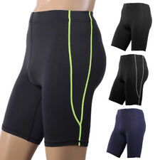Compression Sports Gym Fitness Tight Shorts Men Workout Base Layer Short Pants