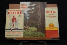 Pacific Northwest,Canadian Tourist Ephemera and Map Circa 1950's