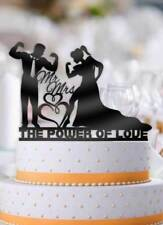The Power Of Love Couple Wedding Cake Topper
