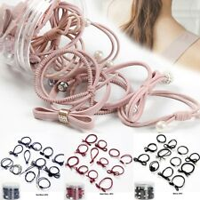12PC Women Hair Band Rope Elastic Ponytail Holder Korean Style Hair Accessories