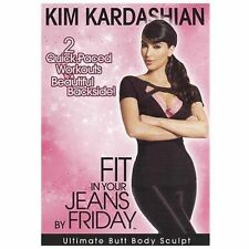 KIM KARDASHIAN: FIT IN YOUR JEANS BY FRIDAY- Ultimate Butt Body Sculpt *NEW+SS!
