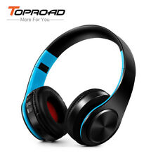 Wireless Bluetooth Headphone Foldable Stereo Headset Mic FM radio TF Aux Equaliz