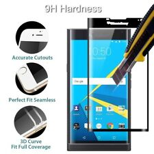 3D Curved Full Cover Tempered Glass Screen Protector for Blackberry Priv/Q10 ZL1