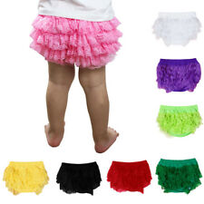 Toddler Baby Kids Girl Casual Hot Bloomer Nappy Underwear Party Diaper Cover Set