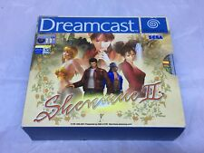 Shenmue 2 II Sega Dreamcast Pal European Version NA Seller Great condition