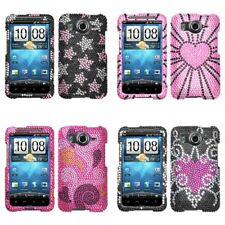 For HTC Inspire 4G Diamond Diamante Bling Rhinestone Case Cover