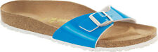 Birkenstock Madrid Birko-Flor Lack Womens Shoes Slides Sandals Clogs