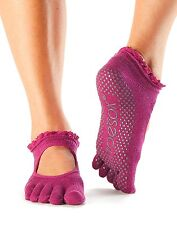 ToeSox Women's Bella Full Toe Grip Non-Slip for Yoga, Pilates, Barre, Ballet ...