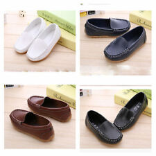 Kids Boys Girls Slip On Leather Flat Loafers Baby Toddler Casual Soft Boat Shoe