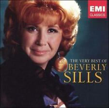The Very Best of Beverly Sills (CD, Jan-2005, 2 Discs, EMI Music Distribution)
