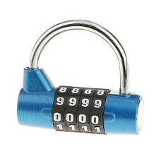 Combination Lock Resettable Padlock for Flight Case Toolbox Lockers Suitcase
