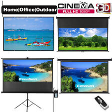 """100"""" Projector Screen Electric Motorised/Manual Home Theatre Outdoor Projection"""