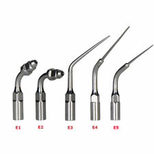 5 Type Dental E1- E5 Ultrasonic Scaler Scaling Endo Perio Tip Fit EMS Woodpecker