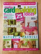 Back Copies Creative Cardmaking Ideas Magazine UK Freepost Various Available