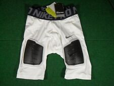 New Nike Pro Combat Hyperstrong Thigh Tail Compression Padded Football Shorts