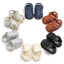 Fashion Newborn Baby Boy Kids Shoes Sandals Infant Boys Walking Shoes Soft 0-18M