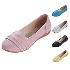 kala Womens Retro Korea Ballet flats Ballerinas Celebrity Pumps Shoes Size 6-8