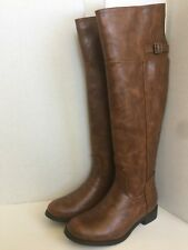 Breckelle's Womens Shoes Size 6-9 Rider 82 Over Knee Riding Boots Equestrian Tan