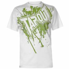 Tapout Logo Tee Mens Gents Crew Neck Shirt