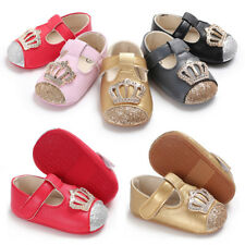 Fashion Infant Girl Princess Shoes Newborn Baby Crib Shoes Soft Sole Shoes 0-18M