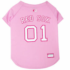 Pets First Pink Boston Red Sox Jersey