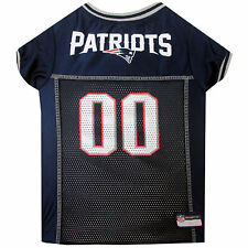 Pets First New England Patriots NFL Mesh Pet Jersey