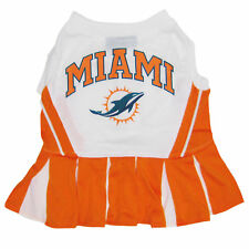 Pets First Miami Dolphins NFL Cheerleader Outfit