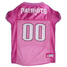 Pets First New England Patriots NFL Pink Mesh Jersey