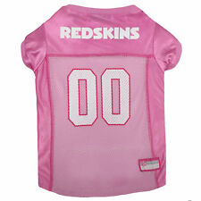 Pets First Washington Redskins NFL Pink Mesh Jersey