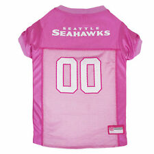 Pets First Seattle Seahawks NFL Pink Mesh Jersey