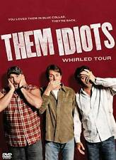 Them Idiots: Whirled Tour (DVD, 2012) Jeff Foxworthy, Bill Engvall  ***NEW!!***