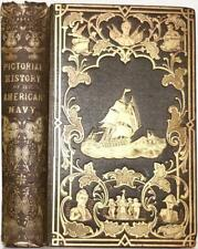 1850 Pictorial History Of The AMERICAN NAVY War of 1812 Pirates Thomas Jefferson