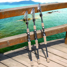 Travel Spinning Fishing Rod Carbon Fiber Lure Rod Casting Fishing Rod Pole