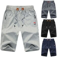 Summer Men's Casual Shorts Baggy Gym Sport Jogger Sweat Beach Pants Trousers US