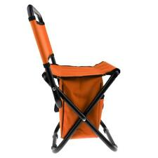 Portable Folding Chair Beach Seat for Hiking Fishing Picnic Barbecue Outdoor