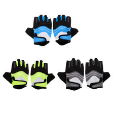 Unisex Anti-Slip Half Finger Gel Gloves for Cycling Training Riding Bicycle