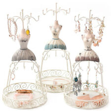 Jewelry Organizer Earring Necklace Display Mannequin Dress Lady Figure Stand