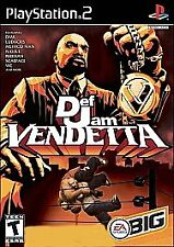Def Jam Vendetta (Sony PlayStation 2, 2003) Complete