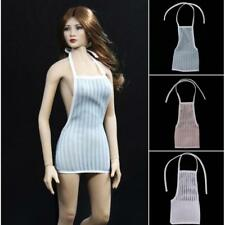 """1/6 Clothes Sexy Backless Package Hip Skirt Dress for 12"""" Female Action Figure"""