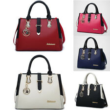Women Leather Handbag Ladies Shoulder Bag Crossbody Tote Shopper Large Satchel
