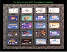 Nintendo GameBoy Advance GBA Game (Select Your Game-Price Varies) Lot #35