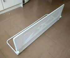 Safetots Extra Wide Mesh Bed Rail, toddler,  travel, bed guard, white