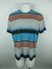 Mossimo Supply Co. Men's sz XL Striped Heathered Multi Color Basic Tee T-Shirt