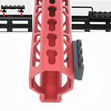 3 slots keymod / M-lok Picatinny Weaver Aluminum Rail Section Segment Mount