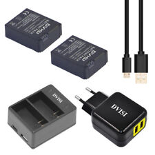 AHDBT-301 Battery with USB Dual Charger AHDBT-302 for Gopro Hero 3/3 Hero3 Hero3
