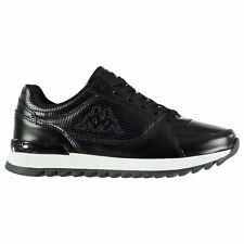 Kappa Annata Trainers Womens Black Sports Trainers Sneakers